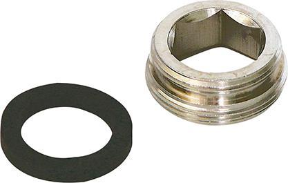 Sanitop Wingenroth Wasserhahn Metall-Adapter Reduzierstück M22-M24