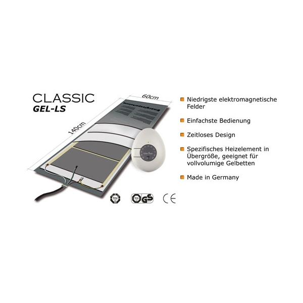Wasserbett Heizung Carbon Heater TBD Classic LS 265W für Gelbetten