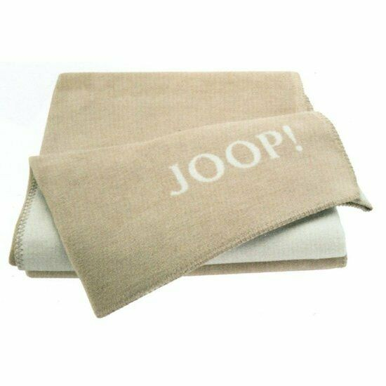 JOOP! Wohndecke Uni Sand-Pergament