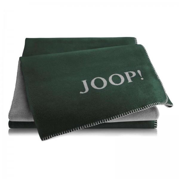JOOP! Wohndecke UNI DOUBLEFACE Agave-Graphit 150x200