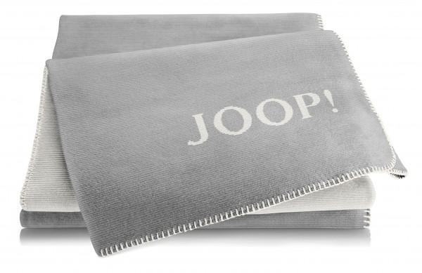 JOOP Wohndecke graphit-ecru