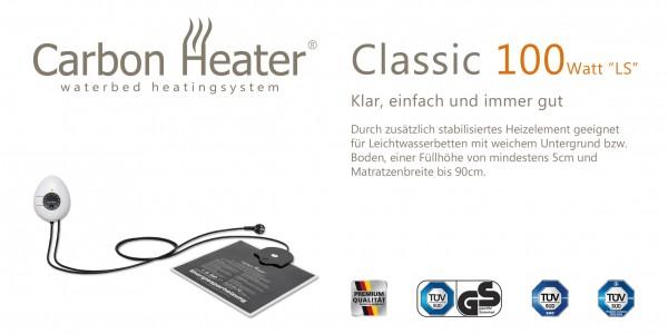 Wasserbett-Heizung Carbon Heater TBD Classic LS 100W