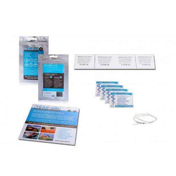 Tear-Aid Typ A Nicht-PVC Reparaturflicken selbstklebend 15cm - 900cm Länge nach Wahl