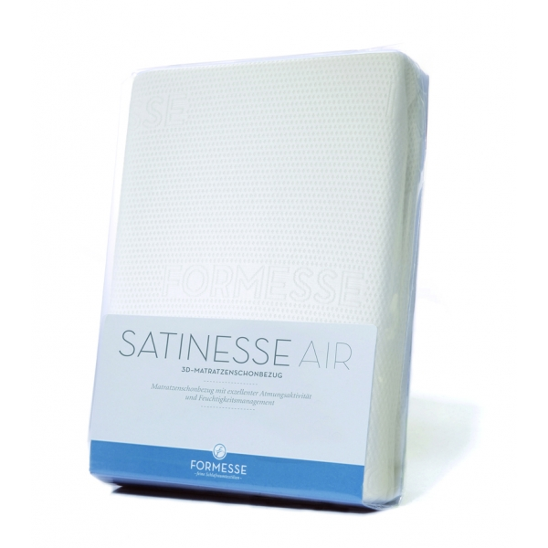 3-D Kissen-Schonbezug Formesse Satinesse AIR - atmungsaktiv