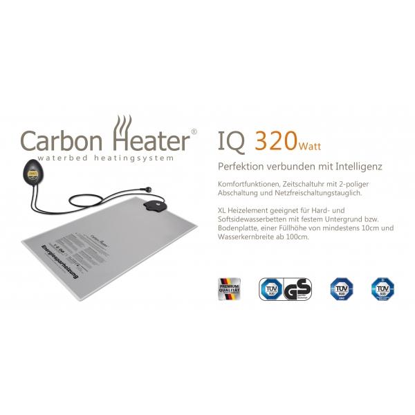 Carbon Heater iQ Digital 320W Wasserbettheizung