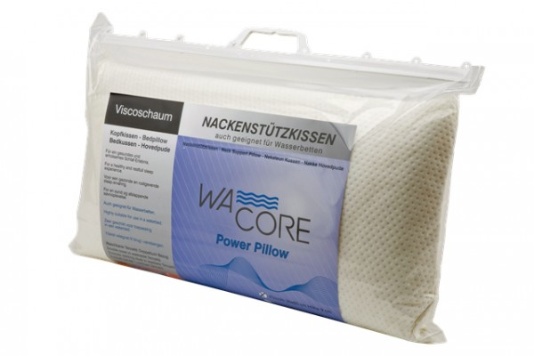 Wacore Power Pillow Grande - flaches Viscokissen