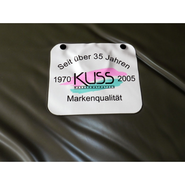 Kuss label Wassermatratze