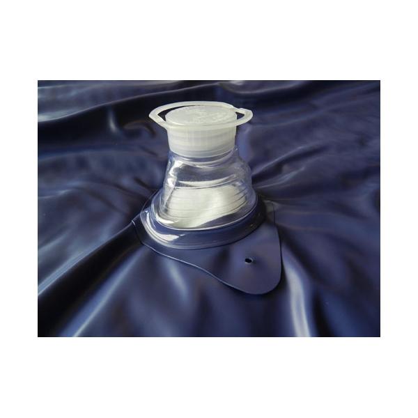 Wasserbett Verschlusskappen Einfüllstutzen inkl. Schraubdeckel und Stopfen